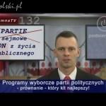 Programy partii i obietnice wyborcze oszustów – który lepszy!