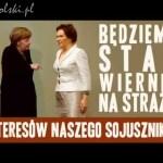 Byli sojusznicy Merkel