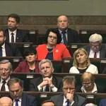 Jarosław Kaczyński po expose Beaty Szydło