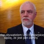 Glenn Jørgensen gratuluje Olbrychtowi z PO wystąpienia Premier Beaty Szydło