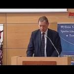Sympozjum Oblicza Manipulacji: Wystąpienie prof. Jana Szyszko, ministra środowiska