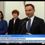 """""""Rodzina 500 plus"""" podpisane przez prezydenta Andrzeja Dudę"""