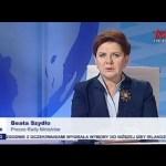 100 dni rządu – Premier Beata Szydło