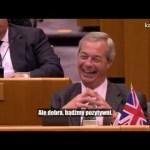 Guy Verhofstadt: Jestem zaszokowany, panie Farage