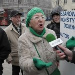 """""""Żywioł Polski"""" na Krakowskim Przedmieściu"""