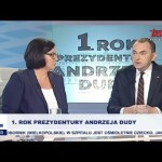 Rok urzędowania Andrzeja Dudy jako Prezydenta RP