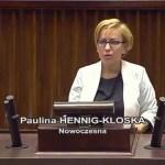 Posłanka Nowoczesnej pyta dlaczego PiS walczy z przestępcami!