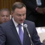 Prezydent Andrzej Duda i mocne przemówienie w ONZ – 19.09.2016