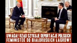 Deportacje polskich feministek do białoruskich łagrów