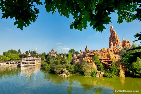 Rivers of the Far West in Frontierland at Disneyland Paris