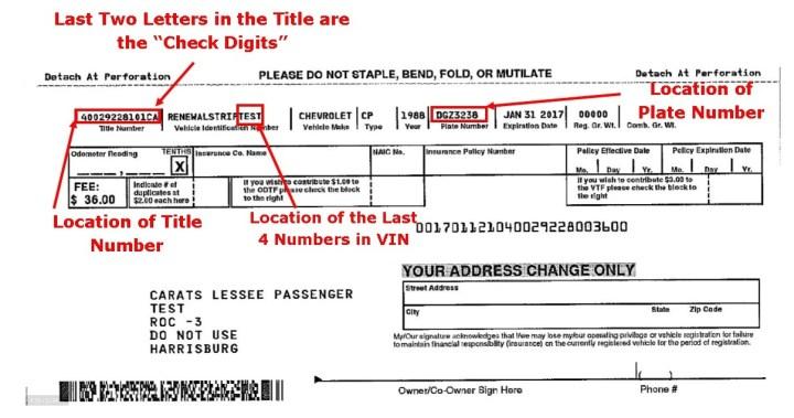 SAMPLE INVITATION TO RENEW Source · Nj Motor Vehicle Registration Fees Newwallpaperjdi co