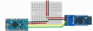 HM-10 e Arduino Pro Mini 3.3V