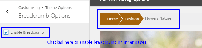 breadcrumb