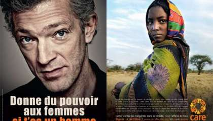 Campagne pour Care avec Lea Seydoux et Vincent Cassel