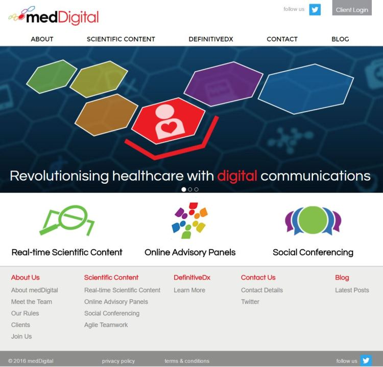 meddigital website