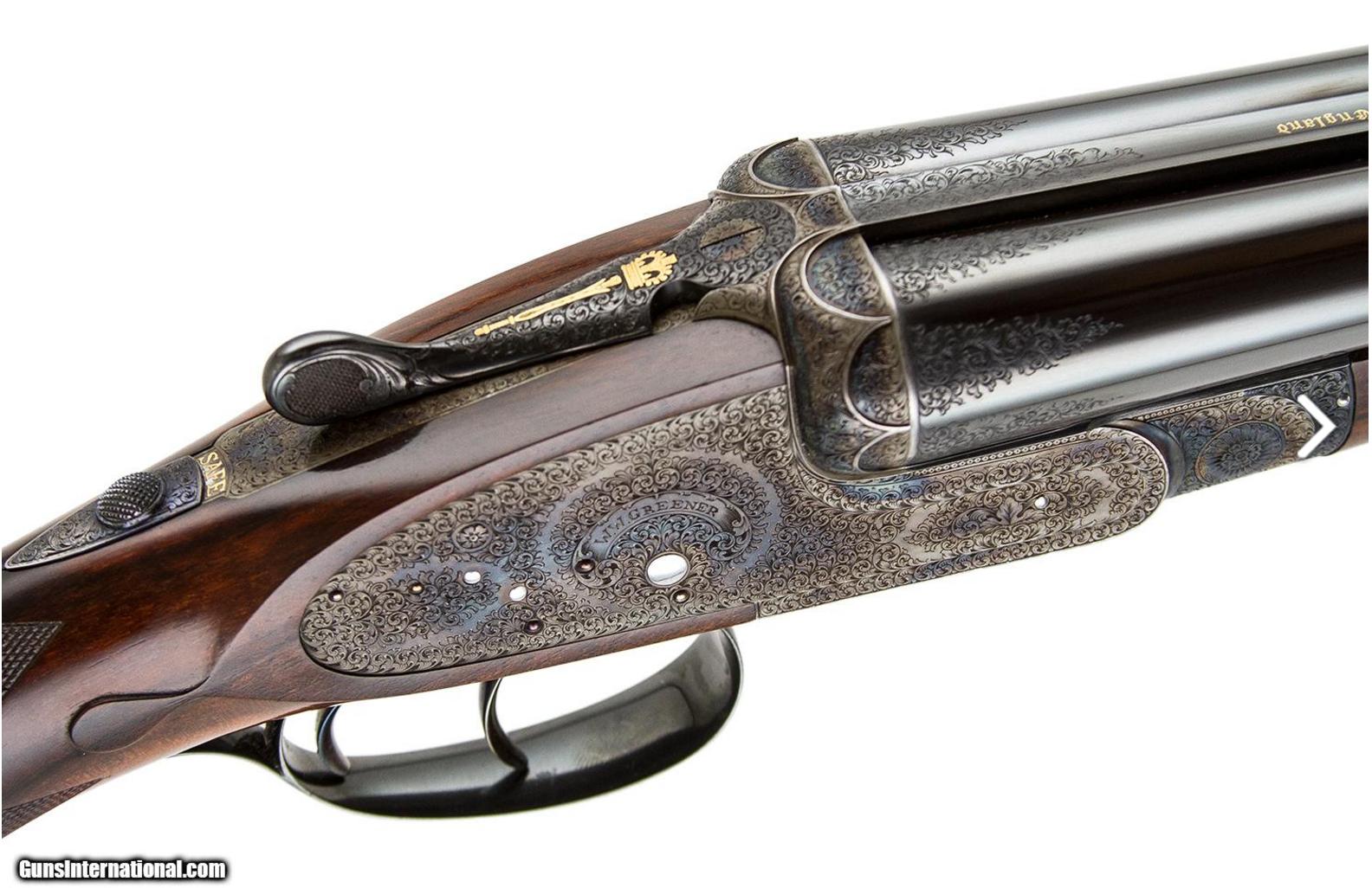 how to clean a sidelock shotgun