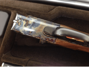 Perazzi DC-12 SxS Case Colored Double Barrel Shotgun