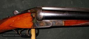 J.P. SAUER 1952 SCALLOPED BOXLOCK 12GA S/S SHOTGUN