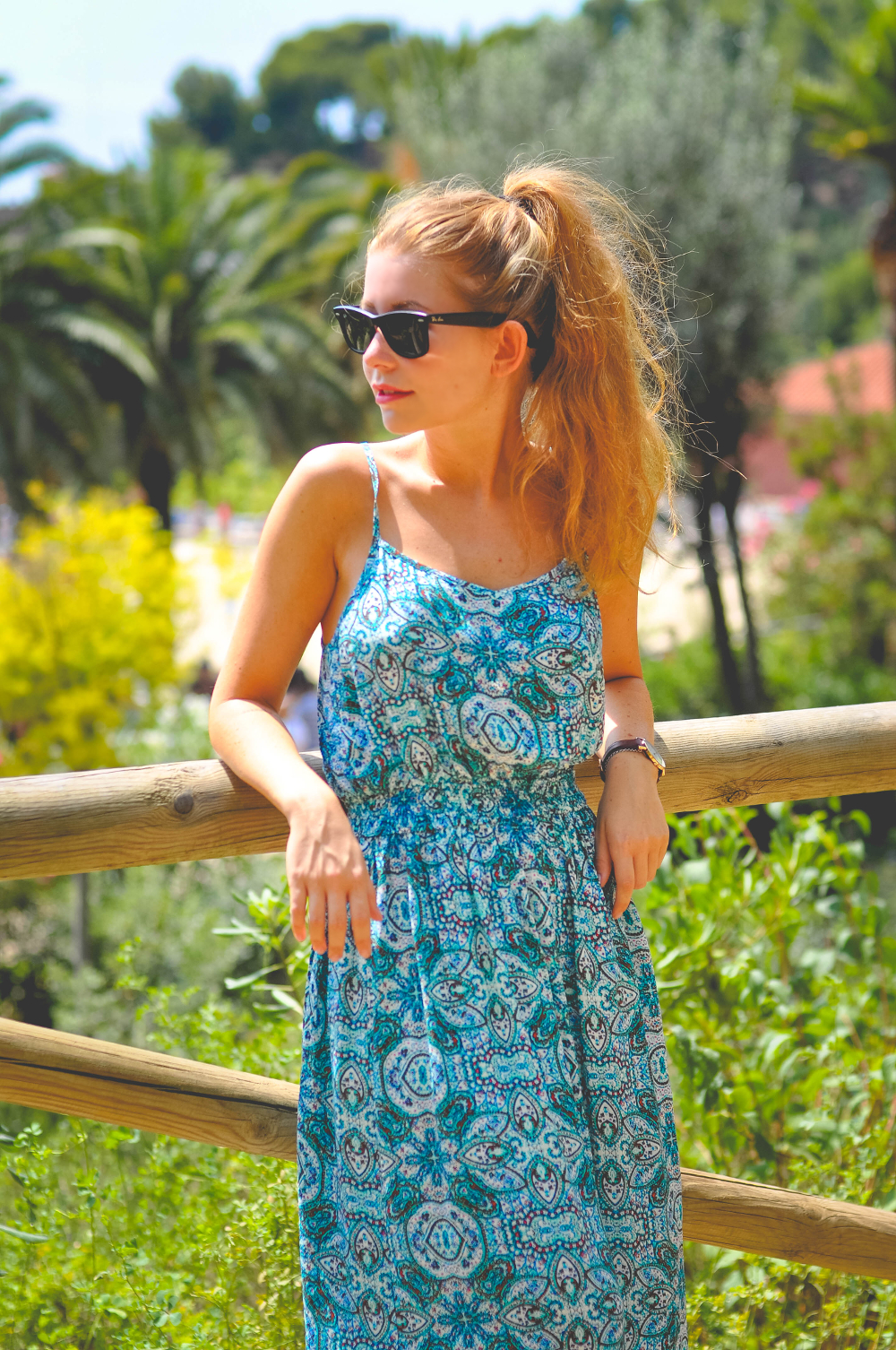 Dogs and Dresses Elien Migalski Barcelona Holiday Look Maxi Dress-46