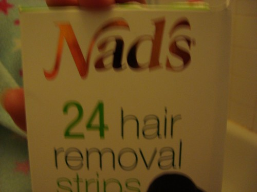 Nads  - Hair removal strips