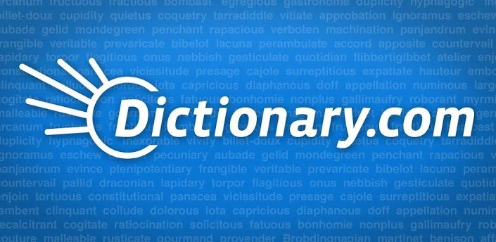 Dictionary app for android