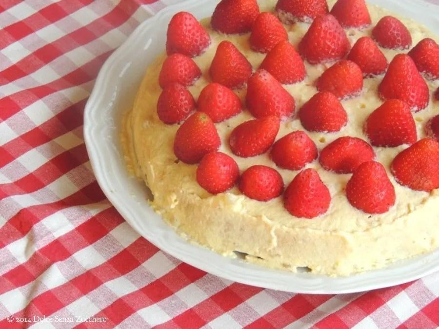 Torta di Fragole e Crema Chantilly (3)