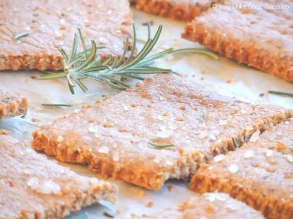 Crackers Senza Lievito Crackers Senza Farina di
