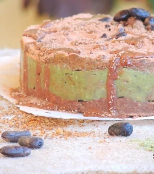 Torta Superfood:  Maca, Proteine della Canapa, Semi di Chia e Cacao Crudo + Giveaway