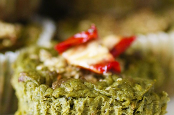 Muffin Salati alle Verdure Verdi Senza Glutine (12)