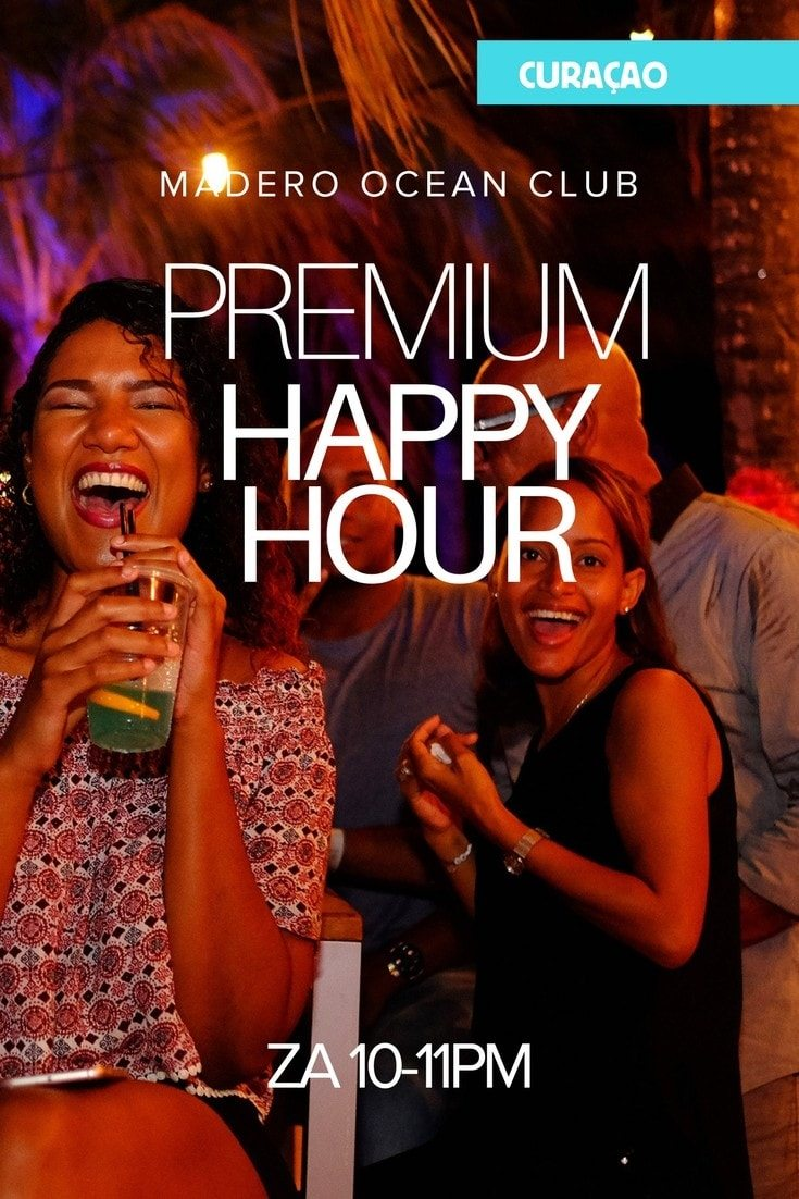 Happy hour mambo beach bij Madero Ocean Club