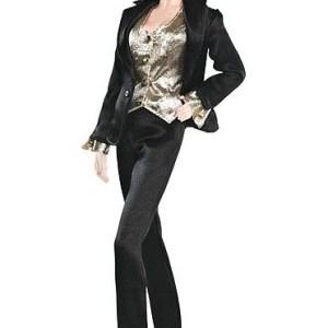 Barbie Collector Black Label James Bond 007 Goldfinger Pussy Galore Doll