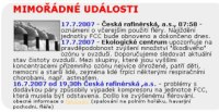 informace na webu EC Kralupy