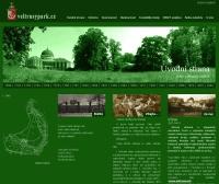 webové stránky veltruského parku
