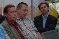 zástupci firmy Ilbau sedí vpravo vpředu