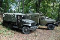 vojenské historické vozy