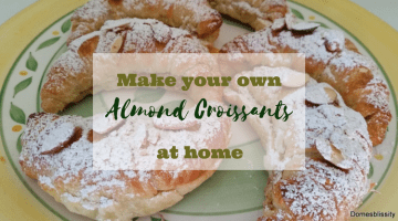Make your own almond croissants at home