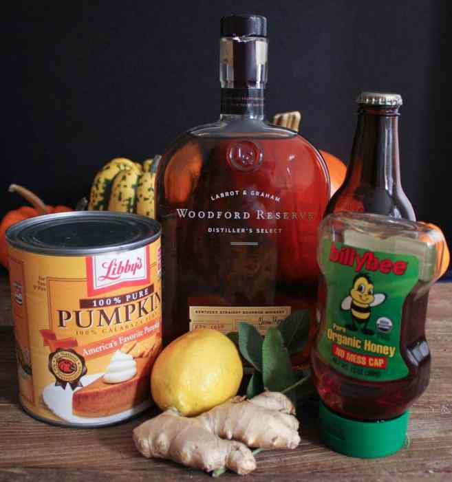 Spiced-pumpkin-punch-with-bourbon-ingredients
