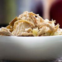 Crockpot Pork and Sauerkraut with Apples