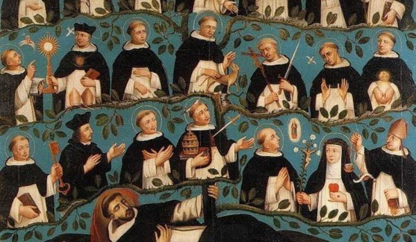 J Rolbels - The Genealogical Tree of St. Dominic - Detail
