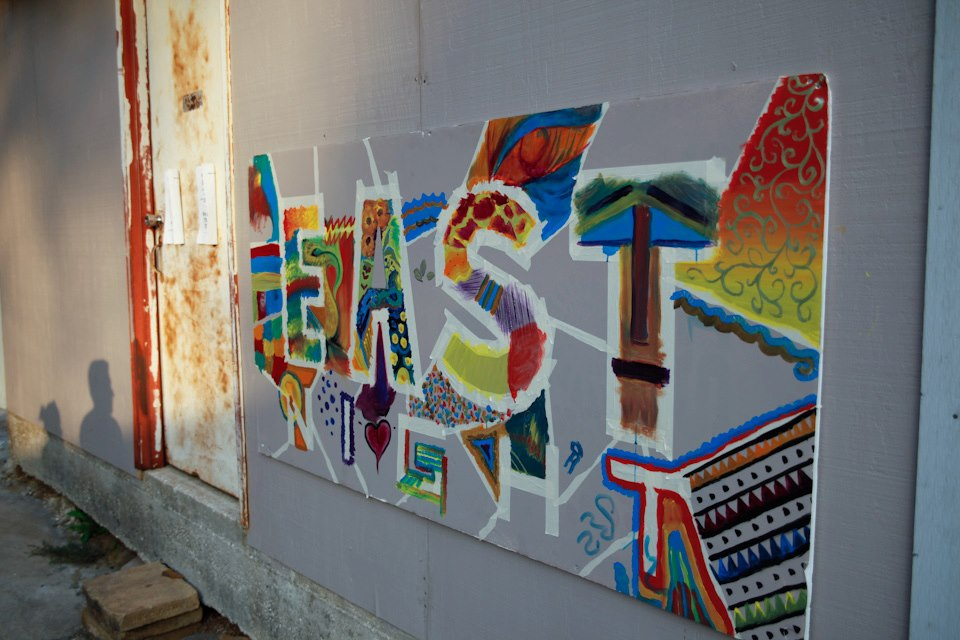 EAST Night Graffiti at Studio #150.