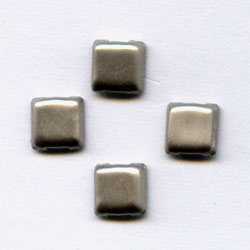 """Pewter 1/8"""" Mini Square -- Paper Fasteners -- 100 Pack"""