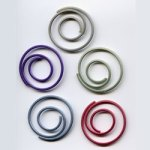 "Pearl -- 7/8"" Spiral Paper Clips -- 25 Pack"