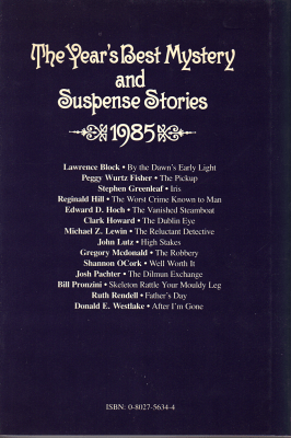 The Year's Best Mystery and Suspense Stories (1985)