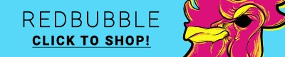 banner, store, shop, redbubble