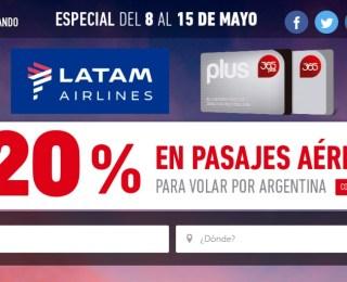 20% de descuento con Clarín 365 y LATAM