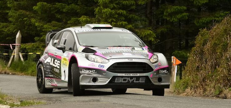Boyles finish second, Kelly in third at Nenagh Rally
