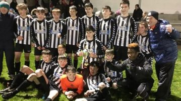 Kilmacrennan Celtic u-14 champions league