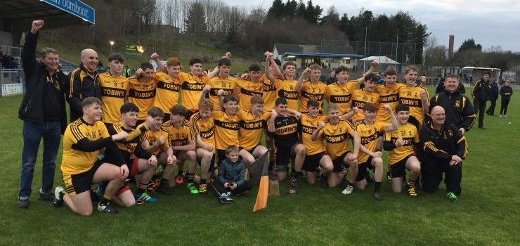 Wonderful St Eunan's storm to Ulster Under-16 title