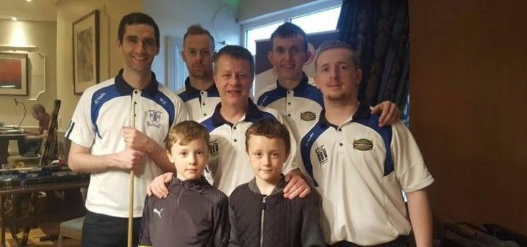 Owenies Bar pool team lands a prestigious team title