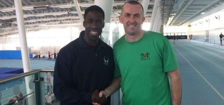 Lifford-Strabane AC: Seamus McAteer represents NI Masters Team in London